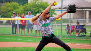 Yorktown's Savannah Baker is a big reason why the Yorktown Tigers Majors (12U) softball team is making a deep tournament run and on a path to the Little League® World Series.