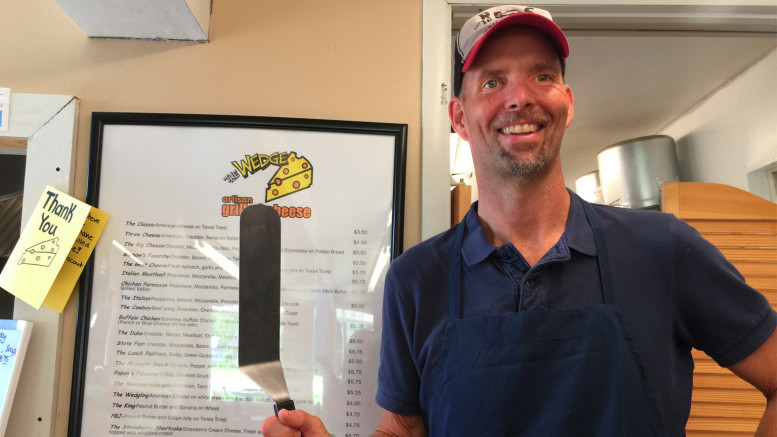 Owner, Steve Wickliffe of The Wedge in Yorktown