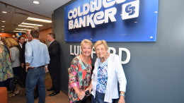 Coldwell Banker Lunsford open house at their new facility in downtown Muncie