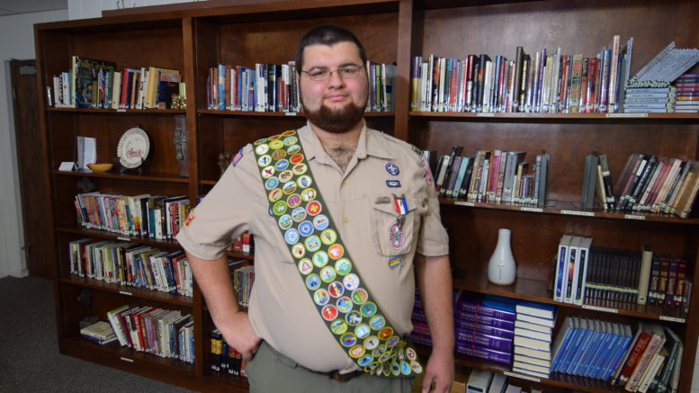 Muncie Central Senior Charlie Murphy has earned 137 merit badges—every single one offered by the Boy Scout program.