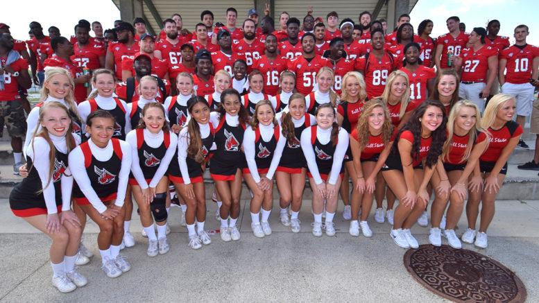 BSU Football—Paint the Town Red at Canan Commons