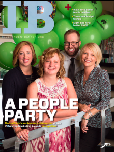 MutualBank employees on the cover of Independent Banker.