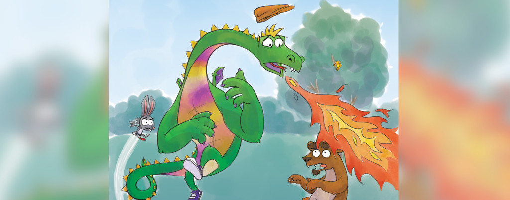 """Patches and the Delightful Dragon Day."" Illustrations by: Jason Harlow"