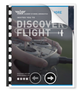 Click here to view the AMA's Discover Flight Information Packet.