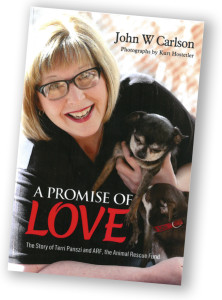 """A Promise of Love"" is available for $15 during ARF business hours. Book photographs are by: Kurt Hostetler"