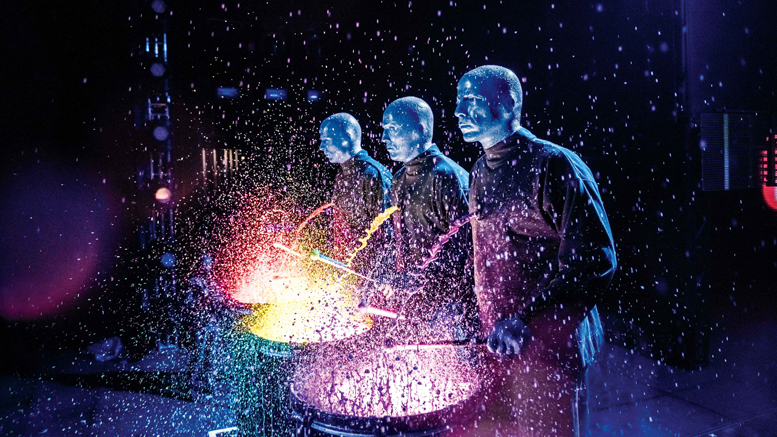 Blue Man Group Comes to Muncie in February. Photo provided.