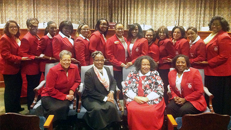 Anderson-Muncie Alumnae Chapter of Delta Sigma Theta Sorority, Inc. Photo provided.
