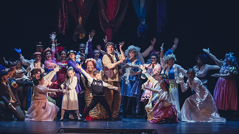 Mary Poppins at Muncie Civic Theater. Photo by: Kishel Photography