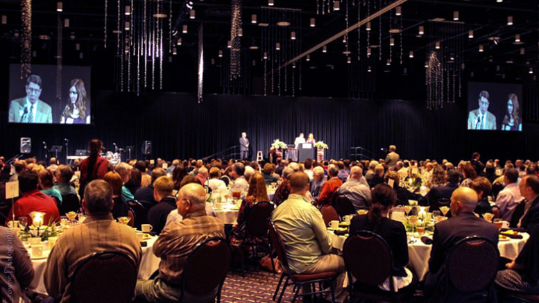 A scene from a past year's FCA banquet. Photo provided.