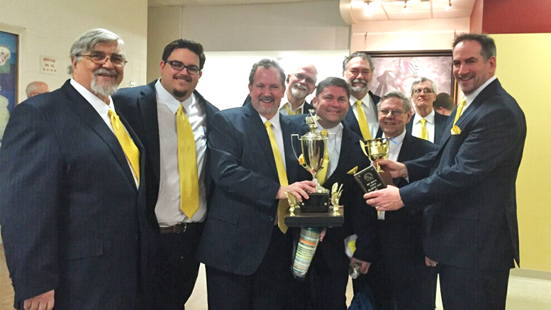 The Magic City Music Men bring home the bacon! Photo provided.