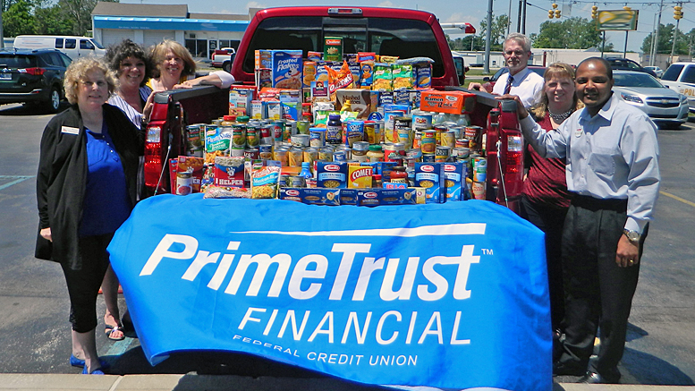 Dellen Ford Muncie >> PrimeTrust Federal Credit Union Works to Fight Hunger ...