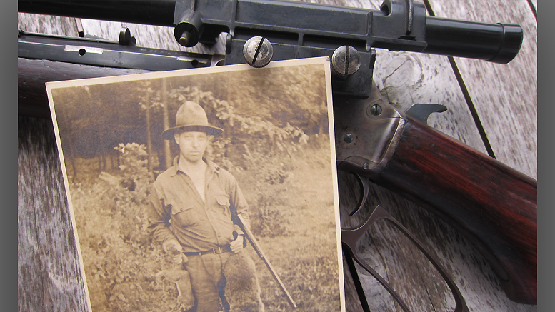 Years ago, Gramps used that rifle to put food on the table. Photo by: Nancy Carlson