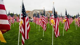 Flags of Honor. Photo provided.