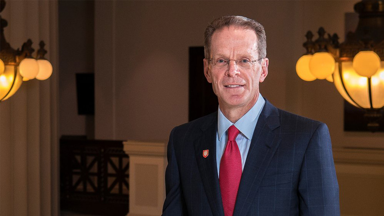 Geoffrey S. Mearns to become Ball State University's institution's 17th president. Photo: courtesy of Ball State University