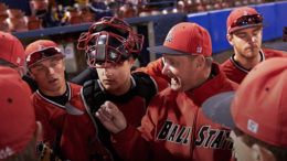 Ball State University head baseball coach Rich Maloney. Photo courtesy of BSU Baseball.