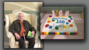 "Ernest ""Ernie"" Whaley, celebrated his 100th Birthday at the Muncie Mall. Photo provided."