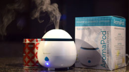 Essential Oils are sometimes used in a diffuser to spread their therapeutic benefits throughout your home. Photo by: Mike Rhodes