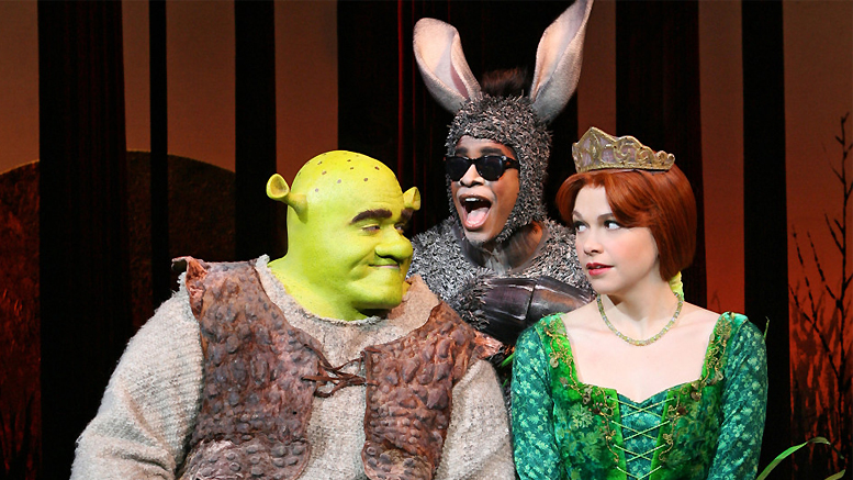 Sutton Foster originated the role of Princess Fiona in the Broadway version of Shrek the Musical, which debuted in 2008. Foster said what she loves most about Shrek the Musical is how it has an enormous heart and is all about friendships and relationships. Photo by: Joan Marcus