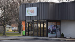 Thrive Credit Union on Wheeling Ave. Photo by: Mike Rhodes