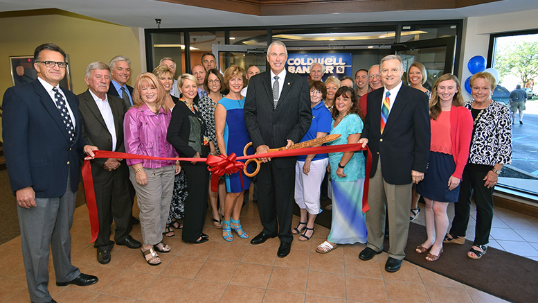 Coldwell Banker Lunsford's ribbon cutting at their location at 400 N. High St., Muncie, IN 47305 File Photo.
