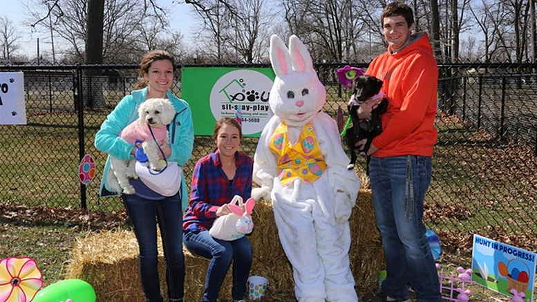 5th annual Easter event for dogs, kids and families will be held April 15, 2017 at McCulloch Park. Photo provided.