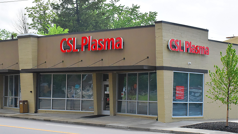 Home of CSL Plasma at 1321 S. Madison. Photo by: Mike Rhodes