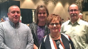 The East Central ISBDC staff is comprised of Scott Underwood, Judy Porter, Peggy Cenova, and Tom Steiner. Photo provided.