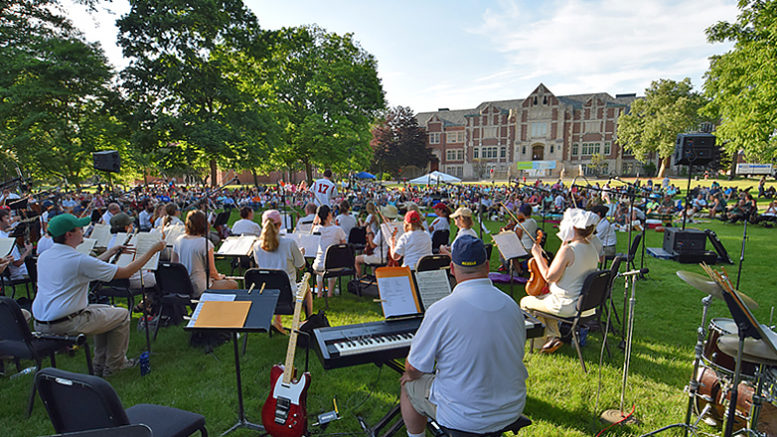"A scene from a past ""Festival on the Green."" Photo by: Mike Rhodes"