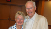 Jim and his wife Linda are pictured following the award ceremony. Photo by: Michael White of Blessed Photography.
