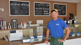 Jeff Carrigan, owner of Mancino's Sweet Shop. Photo by: Mike Rhodes