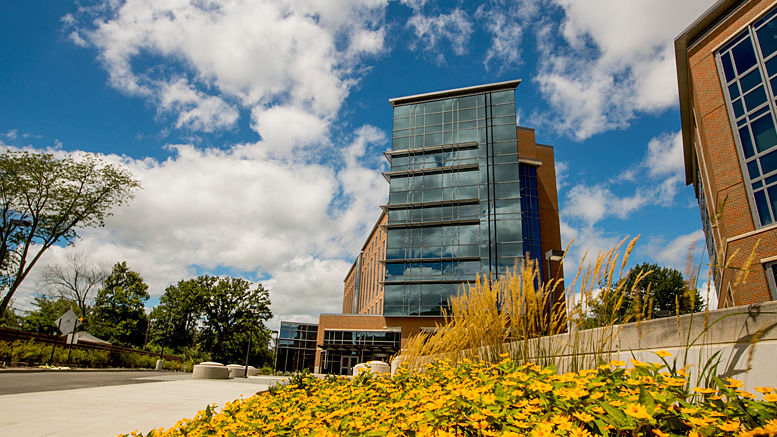 Ball State's new Schmidt/Wilson Residence Hall. Photo provided.