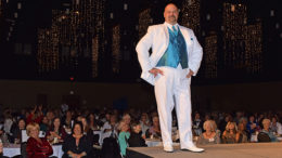 Brett Ellison is pictured modeling a Ford's Tuxedo during the 2017 Altrusa Style Show. Photo by: Mike Rhodes