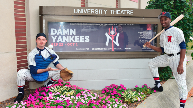 """Damn Yankees"" opened at Ball State recently at University Theatre. Photo provided."