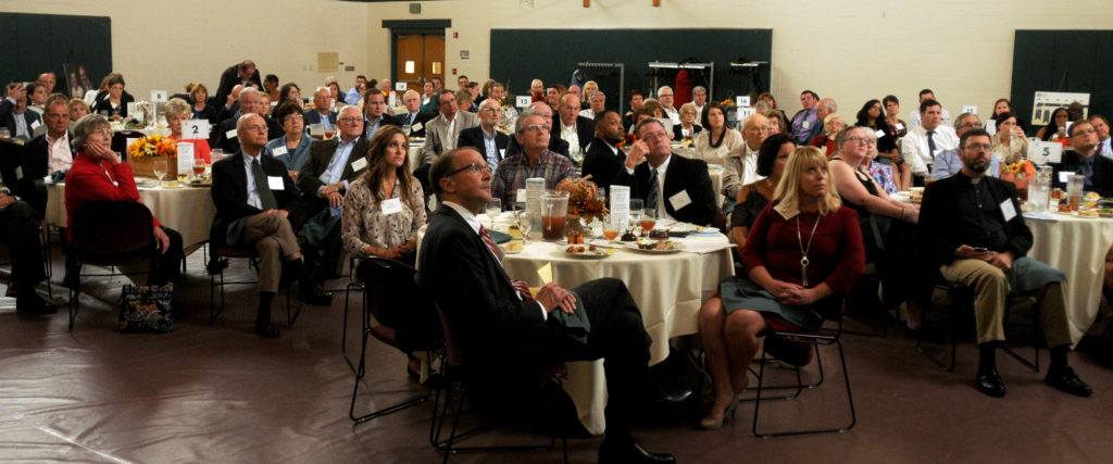 Attendees of the YOC's Shafer Giving Society Luncheon are pictured.