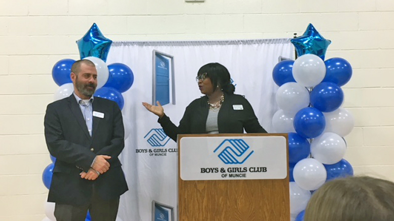 (L-R) Boys & Girls Club CEO Jeff Newman and Buley Executive Director Qiana Clemens. Photo provided.