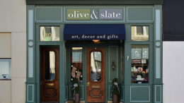 Olive & Slate is located at 304 S. Walnut Street Muncie, IN 47305
