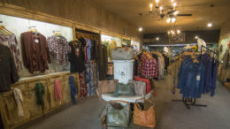 The Hayloft Boutique located at 200 S. Walnut Street in downtown Muncie.