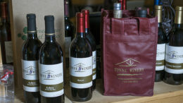 Get a FREE wine tote bag when you purchase 4 bottles of wine. Bring the tote bag each time you visit for wine discounts!