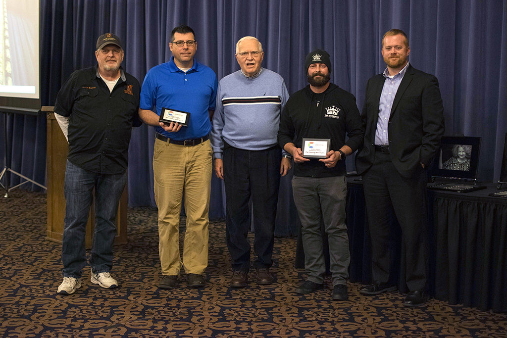 The 2017 Douglas Bakken Small Business Steward Award was presented to New Corner Brewing Co. and Guardian Brewing Co. Photo by: Chelsea Scofield