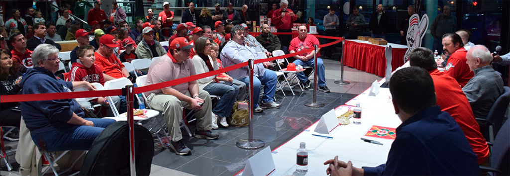 Question and answer session from the 2017 Reds Caravan at Stoops Buick GMC