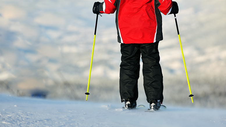 Cross-country skiing is very good for you, supposedly. By: graphicstock