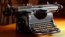 "Remember these? They were called ""typewriters."" Photo by: graphicstock"