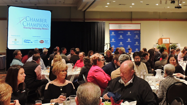 The Chamber Champions Award Luncheon was held at the Horizon Convention Center on March 21. Photo provided.