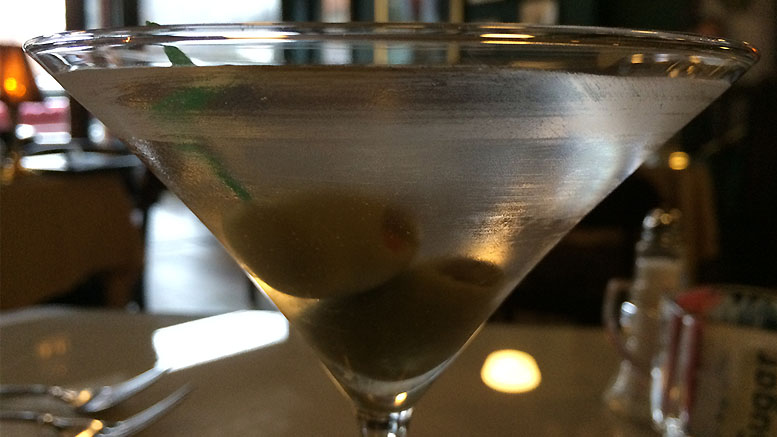 There's a first time for everything, martinis included. Photo by: Nancy Carlson