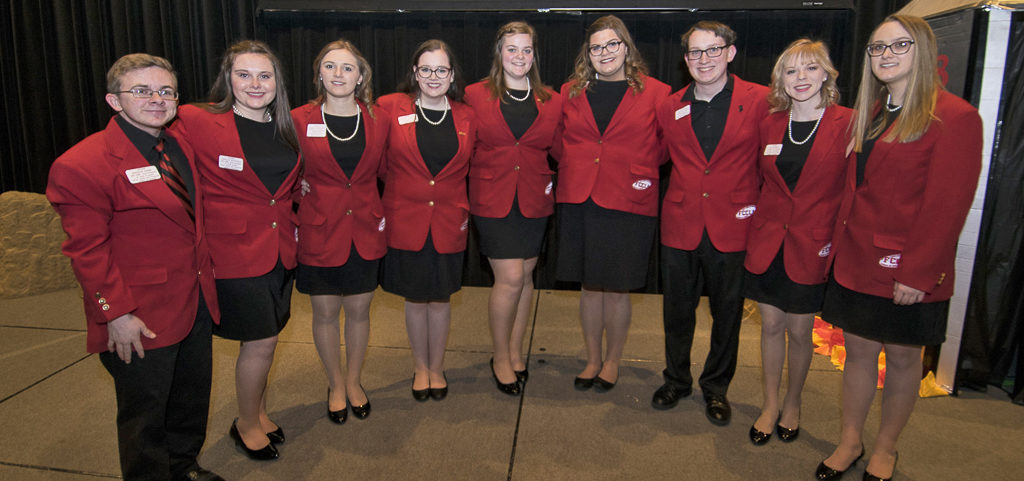 2018 FCCLA State Executive Council Members