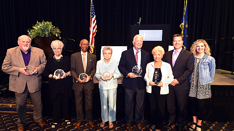 V!VA Winners from the 2017 awards presentation held at the Horizon Convention Center. Photo by: Mike Rhodes