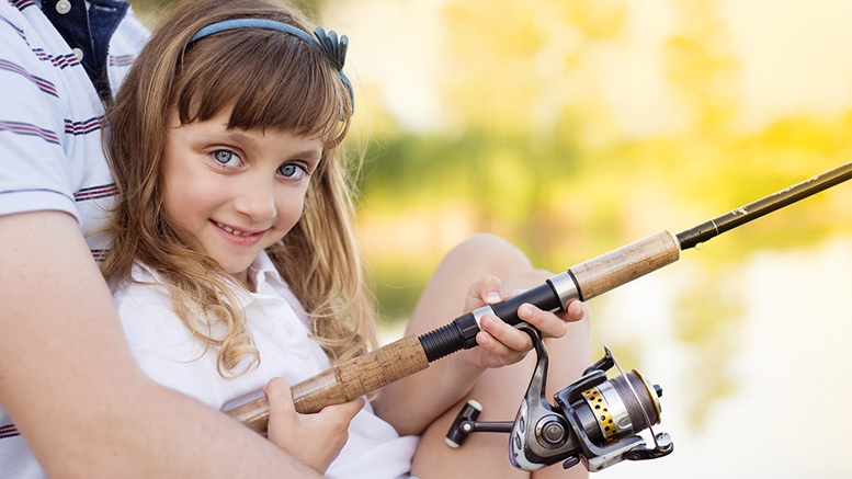 May 19 is also a Free Fishing Day in Indiana. You can take a kid fishing. On this day, adults do not need to purchase a license either. Photo by: Graphicstock