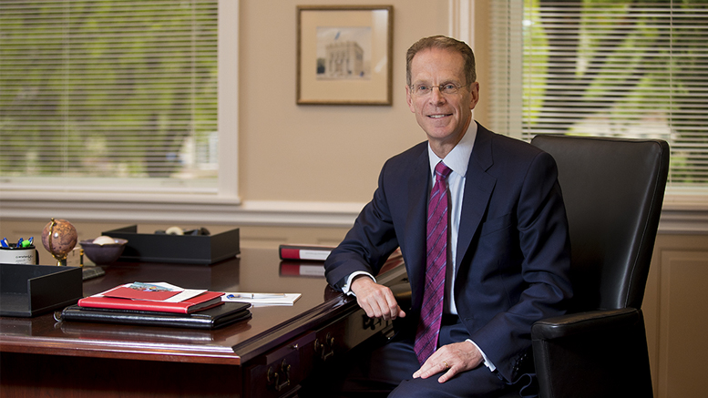 Geoffrey S. Mearns, Ball State University's 17th president. Photo: courtesy of Ball State University