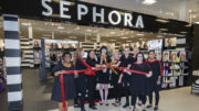 Ribbon cutting at the opening of the 'Sephora Inside JCPenney' at the Muncie Mall. Photo by: Mike Rhodes