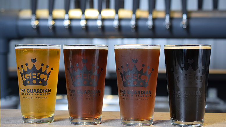 Craft beer from The Guardian Brewing Company. Photo by: Mike Rhodes